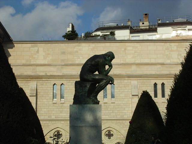 The Thinker; My Favorite Introvert