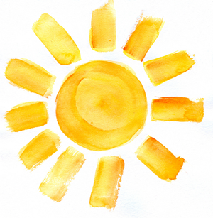 yellow paint clipart