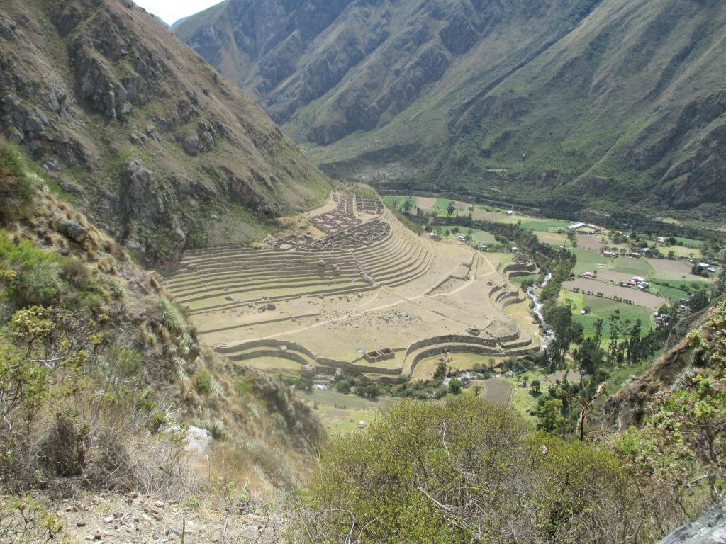 Mosenthal_incan ruins_inca trail