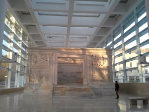 Rome, Ara Pacis Museum by Richard Meier