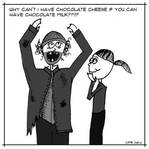 cartoon_chocolate cheese