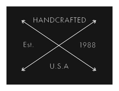 handcrafted logo