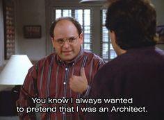 george costanza - architect
